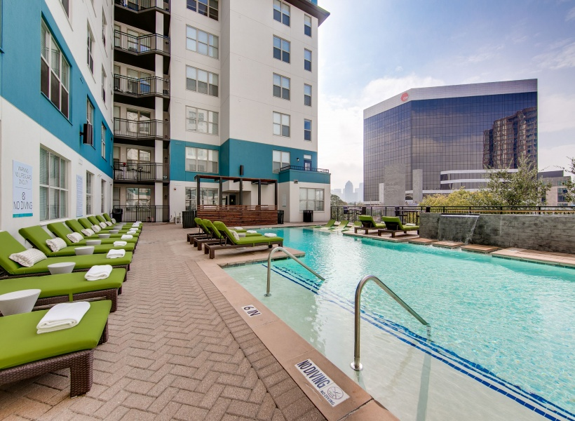 McKinney Uptown Resort-Style Pool